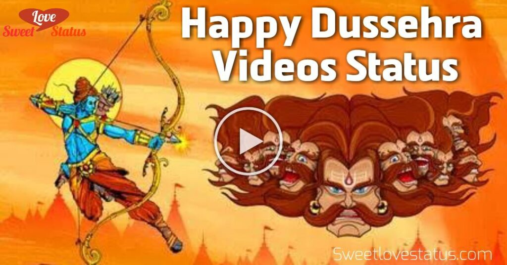 happy dussehra video download 2020, Happy dussehra whatsapp status video download 2020,
