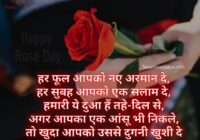 Happy Rose Day Shayari Quotes Hindi, shayari on rose in hindi, shayari on rose flower in hindi, two line shayari on rose, gulab shayari 2 lines hindi, rose day shayari in english, rose shayari in hindi for girlfriend, rose status in hindi 2 line, rose image shayari,